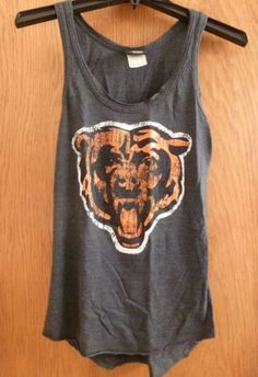 Distressed-Chicago-Bears-Tank-Top-Small
