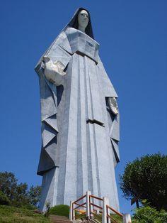Monumento a la Virgen de la Paz Trujillo Venezuela