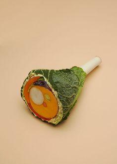 Sarah Illenberg: Food illustrations onvegetarism. Photography by Sabrina Rynas.