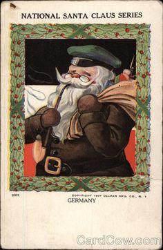 National Santa Claus - Germany 1907