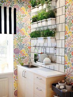 Móntate un pequeño #huerto vertical en la #cocina con #hierbas aromáticas