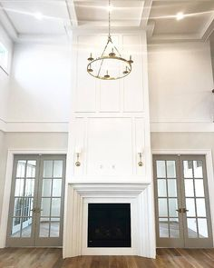 Latest Pictures real Stone Fireplace Ideas Essex Fireplace Mantel – Stone Mountain Castings and Design Two Story Fireplace, Stone Fireplace Mantel, Home Fireplace, Fireplace Remodel, Living Room With Fireplace, Fireplace Surrounds, Fireplace Design, My Living Room, Fireplace Ideas