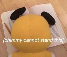i guess this fits in with jimin cuz chimmy is his character idk Bts Funny, Bts Memes Hilarious, Cute Memes, Dankest Memes, Bts Jungkook, Namjoon, Hoseok, Taehyung, Bts Meme Faces
