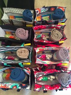 Thirty One Chemo Comfort Bags. I love this idea so much!