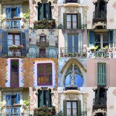 Janelas Windows, Barcelona, Doors, Mansions, Beautiful, House Styles, Prints, Home Decor, Antique Windows