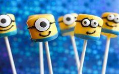 Cute minion marshmallows