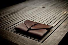 SM. leather folio