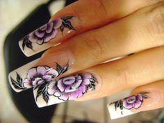 Summer Nail Art Designs and Ideas For Girls 2014 French Manicure Nail Designs, Simple Nail Art Designs, Best Nail Art Designs, Beautiful Nail Designs, Easy Nail Art, Beautiful Nail Art, Gorgeous Nails, Cool Nail Art, Nails Design