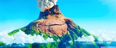 "Lava tells the story of a Uku, a lonely volcano who, over the course of millions of years, dreams about being sent someone to love. | The ""Lava"" Short Before ""Inside Out"" Is Making People Feel All The Feels"