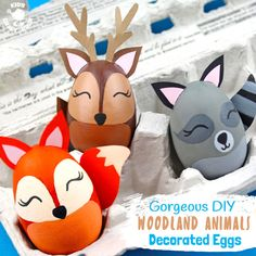 25 Egg Decorating Ideas for Everyone Easter Arts And Crafts, Easter Crafts For Kids, Animal Decor, Animal Crafts, Cool Easter Eggs, Egg Toys, Spider Crafts, Easter Egg Designs, Easter Activities