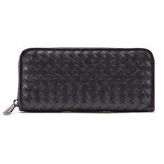 Jessica Jensen Woven Wallet in Black