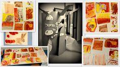 """""""Alberando le emozioni"""", pittura con la terra, Lab. Pinocchio 2015"""