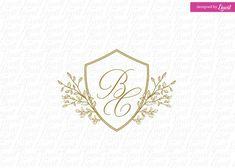 Modern Wedding Logo by Linvit on @creativemarket