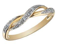Diamond Ring in 10K Gold - List price: $300.00 Price: $179.00 Saving: $121.00 (40%)
