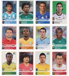 Panini WM 2010 Update - 80 Einzelsticker, Stickerpoint