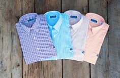 Tristar Gingham Shirts by Volunteer Traditions Gingham Shirt, Summer Collection, My Wardrobe, Poplin, Preppy, Cool Outfits, Style Inspiration, Mens Fashion, Men's Clothing