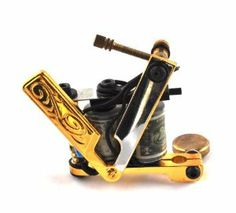 Cut Throat Razor Shader Tattoo Gun/ Machine With 10 Wrap Dollar Coils by Tattoo. $69.99. 10 Wrap Dollar Coils. This is the Cut Throat Razor Tattoo Machine with new and improved performance. Smooth Running Liner Machine. Professional Tattoo Machine. Professional Tattoo Machine by Devils Needle.   This is the Cut Throat Razor Tattoo Machine with new and improved performance complete with 10 wrap dollar coils.    Impressive outer body matched by the impressive perform...