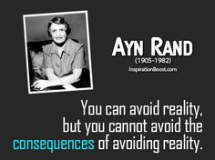 Ayn Rand quote.