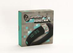The Diamond version of Gameband + Minecraft™ Luxury watch