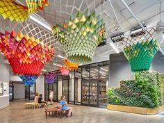 Gensler gets self-sufficient at Etsy's headquarters - News - Frameweb