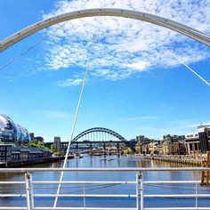 Is that Sydney? Perhaps you're mistaken. This is the Gateshead Millennium Bridge, a pedestrian tilting bridge spanning the River Tyne between Newcastle upon Tyne and Gateshead in England's North. Gateshead Millennium Bridge, Paphos, Pedestrian, Cyprus, Newcastle, Bridges, Exploring, Sydney, England