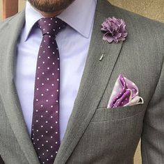 Purple Reign!! ($20) Purple Dot Necktie ($15) Hartford Lapel Pin Styled by @meeeotch - Choose 3 ties for $45 Use Code: 3FOR45 Choose 5 for $35 lapel flowers Use Code: 5FOR35 Spend $60 - get 25% off!! Use Code: HBA60 for 25% Off when spending $60 or more... Harrison Blake Apparel www.harrisonblakeapparel.com Join Our Monthly Club Get 5 accessories for $25/month- - Free Shipping - Cancel Anytime - Subscribe Today www.harrisonblakeapparel.com