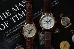 The Two Watch Collection: The Patek Philippe 3940 And The A. Lange & Söhne 1815 Chronograph