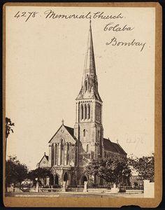 Memorial church Colaba circa 1850s