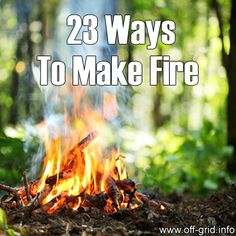 Please Share This Page: If you are a first-time visitor, please be sure to like us on Facebook and receive our exciting and innovative tutorials and info! Photo – © volff – Fotolia.com – Fotolia.com When it comes to basic survival tips, creating a fire is always top priority. That's why I found it really [...]