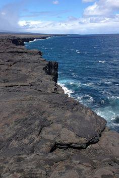 lava along coast