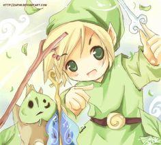 Zelda: Wind God's Aria LOL by ~Zaphk on deviantART