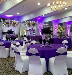 New Party Decorations Purple Birthday Sweet 16 Ideas Masquerade Party Decorations, Masquerade Ball Party, Sweet 16 Masquerade, Masquerade Wedding, Masquerade Theme, Quinceanera Decorations, Quinceanera Party, Wedding Decorations, Sweet 16 Party Decorations