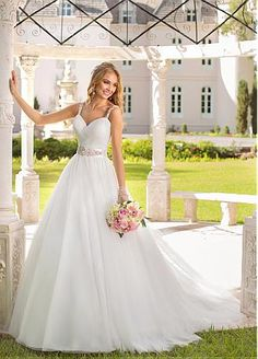 36f7280445be Buy discount Stunning Tulle Sweetheart Neckline Natural Waistline Ball Gown  Wedding Dress at Dressilyme.com