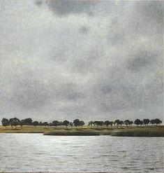 Vilhelm Hammershøi. Gentofte Lake. 1905.
