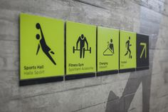 DCC Leisure Centre Signage - The 100 Archive