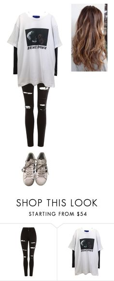 """""""Untitled #448"""" by ericanunes on Polyvore featuring Topshop and adidas"""