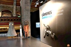 Temporary exhibitions at the Museo Marítimo of Barcelona: Càmeres Submarines. Barcelona Tourism, Maritime Museum, Submarines, Exhibitions, Seaside, Culture, History, City, Museums