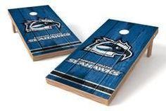 Broward College Seahawks Single Cornhole Board - Vintage