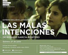 """""""Las Malas Intenciones"""" aclamado film de la directora Rosario García-Montero."""