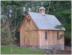 The Candlewood mini-barn can be built as a garage, workshop, shed or all-purpose backyard barn. This pretty lawn tractor shed in Washington ...