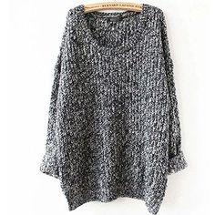 Oversized Sweater Autumn winter sweaters women pull femme knitwear long sleeve o-neck long pullover 2016 tricot kerst trui knit