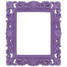 """8"""" x 10"""" Purple Open Frame $10.00 On Sale! Would love to make this into a chalkboard and use as a sign!"""