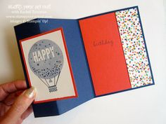 ORDER STAMPIN' UP! ONLINE Providing stamping ideas and inspiration for making handmade cards, scrapbooking and home décor with stampinup paper crafting supplies. Boy Cards, Kids Cards, Cute Cards, Fancy Fold Cards, Folded Cards, Card Making Inspiration, Making Ideas, Birthday Cards, Birthday Bash