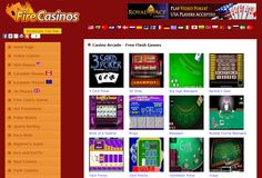 USA Online Casinos | Canadian, UK and European Casinos is a directory to the best online casinos on the Internet. Whether you are from the USA, Europe, Canada or the UK, you are sure to find what you are looking for right here at http://www.firecasinos.com
