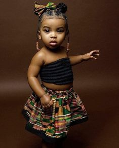 Our babies don't have to be mixed with anything to be beautiful. Black Baby Girl Hairstyles, Toddler Braided Hairstyles, Toddler Braids, Girls Natural Hairstyles, Braids For Kids, Cute Hairstyles, Natural Hair Styles, Black Baby Girls, Cute Black Babies