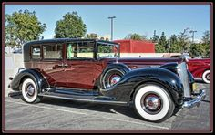 1938 Packard 1608 Towncar......