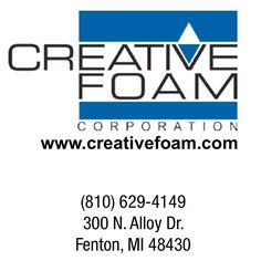 Creative Foam produces foam parts for automotive medical and wind energy. Support one of our local advertisers today!