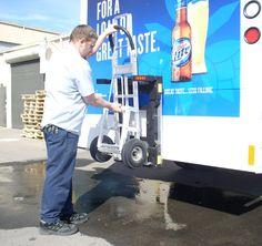 Nissan Portchester Beverage route driver Alan Obert of T. Verrastro ...