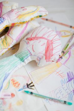 Create Fabric Dolls from Drawings!