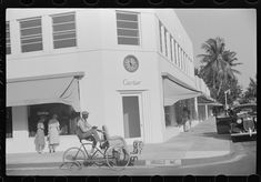 Palm Beach, Florida. A street corner